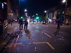 Police - Tottenham Riot - 6th August 2011 by AndrewPagePhotography