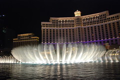 The Bellagio Fountains, Las Vegas
