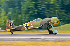 Focke-Wulf Fw 190 A-5 (david g schultz) Tags: fockewulffw190a5 bmw801d2 jagdwaffe radialenginefighteraircraft fockewulfaircraft worldwariifighteraircraftofgermany germanfighteraircraft19301939 flyingheritagecollection paulallen nikon nikonians d300 nikkor sigma nikonsigma davidschultzphotographycom throughthelensrevelations airplane northamericanp51mustang outdoor aircraft vehicle dx luftwaffe car nikonafs283003556gedvr 150600mmf563dgoshsm|c davidschultzphotography