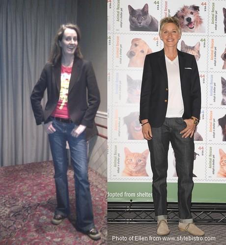 My Ellen DeGeneres Look