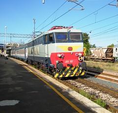 FS E656.607 (Gabriele Bosi) Tags: railroad train railway bahn treno originale fs trenitalia ferrovia regionale fornovo e656 caimano pontremolese livreaoriginale e656originale e656607 r2036 livornomilano