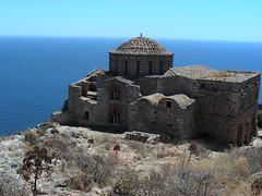 Peloponés: Monemvasia aneb Vítejte ve středověku