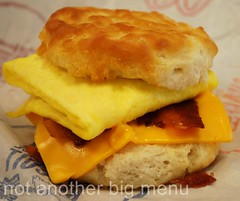 Las Vegas, Nevada - McD's biscuit with bacon, egg and cheese