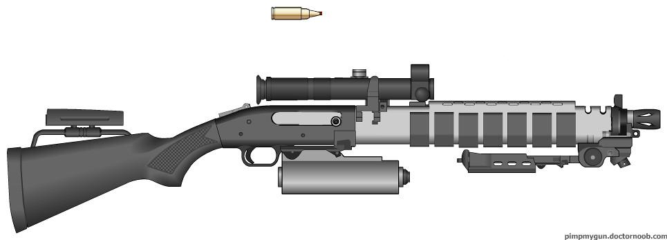 heavy rifle ''Deadshock''