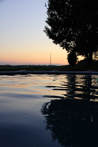 poolsunset
