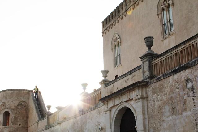 donnafugata castle, ragusa, sicily