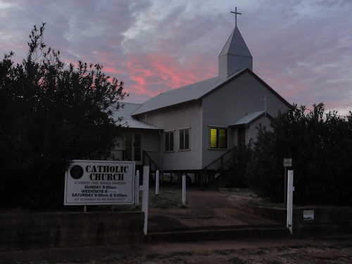 Une église à Tennant Creek