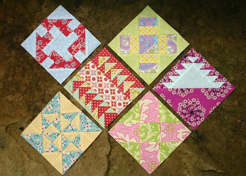 Farmer's Wife Sampler - week 11 blocks