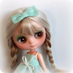 Pebble  (Angel~Lily) Tags: she cute alpaca that was is doll with lol first best than blythe but custom ever bit dressed kinda  reroot expected middie a i trickier angel~lily