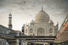 What will the future hold? (henrikj) Tags: morning india reflection building tower monument nature water ecology architecture sunrise dawn pond scenery asia fav50 architecturaldetail towers structures 9 tajmahal agra architectural september cupola dome land reflective environment marble sunrises environmentalism 2009 sunup daybreak ecosystem edifice edifices buildingmaterials mughal uttarpradesh buildingmaterial fav10 mughalarchitecture fav25 constructionmaterial marblestone