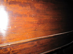 1I The Before Restoration Appearance of the Mahogany Veneer!! (newfoundpianos) Tags: beforerestoration furniturestripping mahoganyveneer pianorefinishing sandingwood furniturerefinishernewfounland