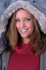 Woman in Turtleneck (Mytwist) Tags: red woman wool girl fetish sweater sweet jumper turtleneck