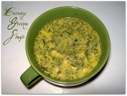 Creamy Greens Soup