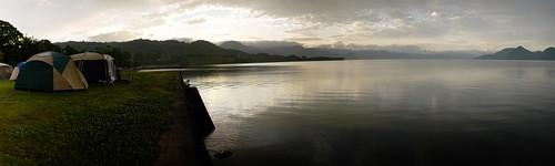 Lake Toya Camping Ground, Hokkaido, Japan