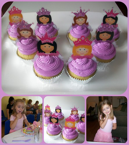 Princess Cupcakes by Polka-dot Zebra