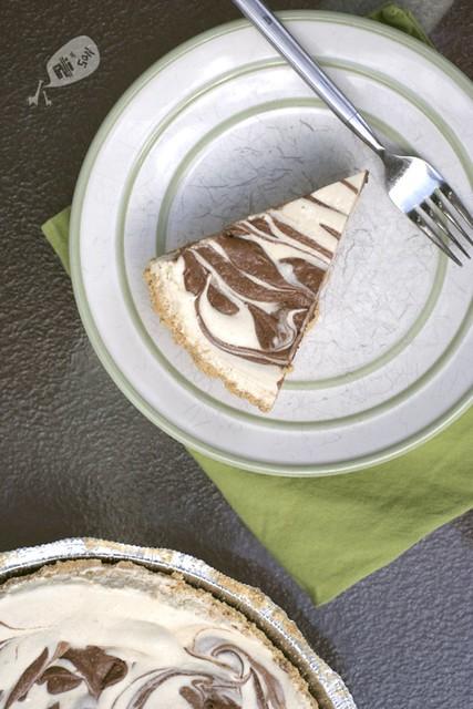 Frozen Peanut Butter Swirl Pie