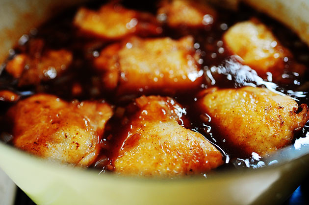 Peach-Whiskey Barbecue Chicken | The Pioneer Woman Cooks ...
