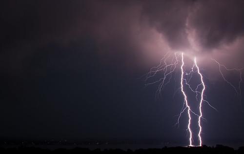 August 14th thunderstorm, Belleville Ontario