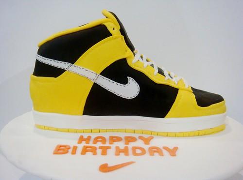 Lydia Bakes Nike Kicks Shoe Cake