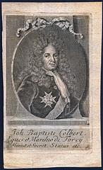 Joh Baptiste Colbert (Stifts- och landsbiblioteket i Skara) Tags: frankrike portrtt jeanbaptistecolbert statsmn colbertdetorcy