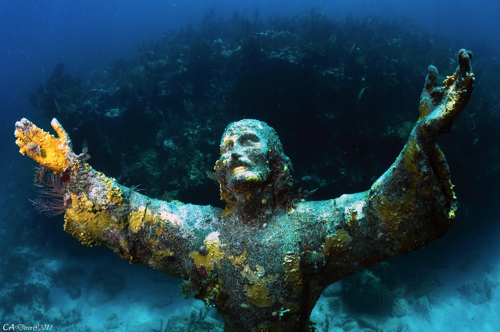 Key Largo Dry Rock Reef - Christ of the Abyss