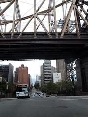PA031636 (rachelalbanese) Tags: newyorkcity bridge queensborobridge rooseveltisland uppereastside 59thstreet 59thstreetbridge