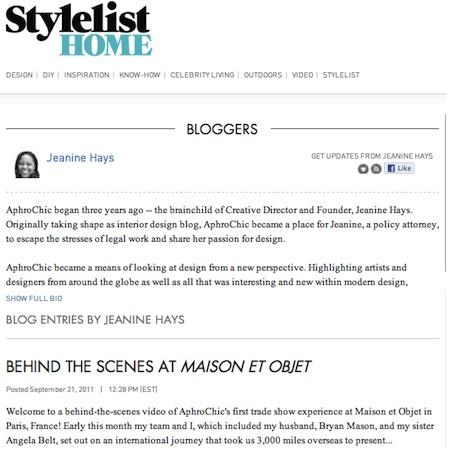jeanine hays stylelist home blogger
