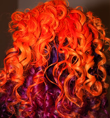 Day 294 of 365 - Year 2 (wisely-chosen) Tags: selfportrait me september canon50mmf18 orangehair purplehair cameraraw 2011 365days naturallycurlyhair canonspeedlite430exii manicpanicpurplehaze manicpanicelectricbanana curlformers adobephotoshopcs5extended manicpanicrocknrollred redkensmoothdownbuttertreatment onenonlyarganoiltreatment matrixcurllifecontouringcream