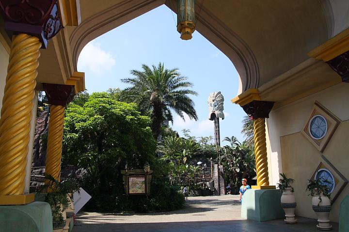 六福村主題遊樂園(阿拉伯皇宮區)014