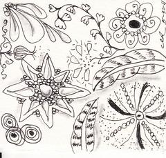 05-30-2011b (Blind Squirrel Photo Safari) Tags: art tile drawing hobby doodle tangle zentangle