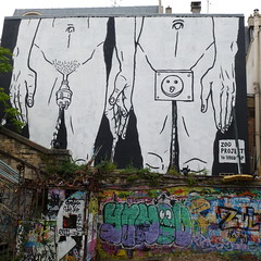 zoo project (lepublicnme) Tags: streetart paris france square graffiti july carr 2011 zooproject