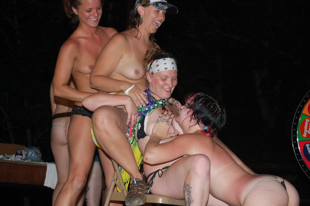 biker babes run naked at rally
