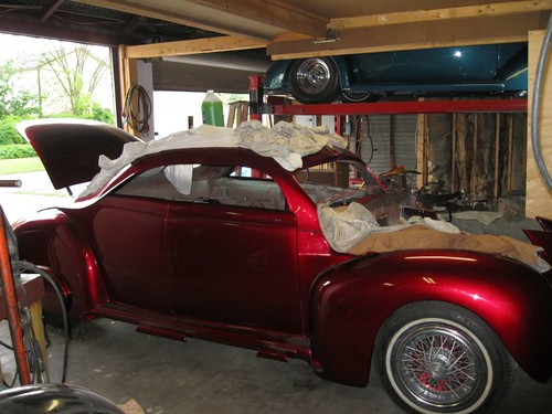 The 40 Ford coupe