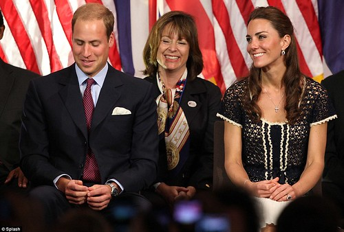 We salute you William and Kate wrap up their U.S. tour by paying  tribute to brave Americans who serve in the military  3