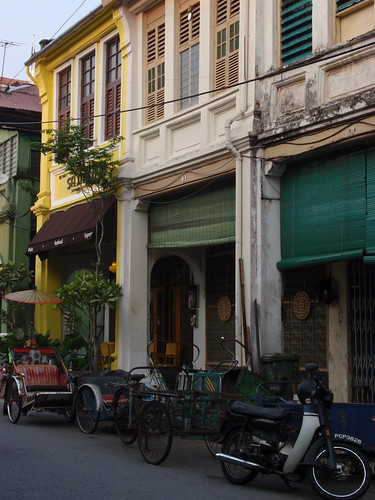 Penang shophouses