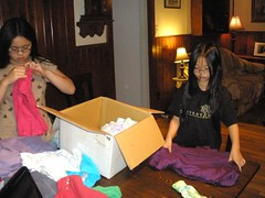 Packaging Clothes for African Children