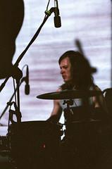 Tomas Pettersen (Weaver_23ph) Tags: eos biometar ulver poznań musicalinstrument eos30 canon drums artifact people tomaspettersen superia800 film analog 35mm zeiss czj