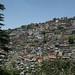 Shimla, cidade pendurada montanhas abaixo