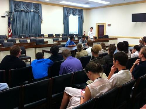 NSLC Politics and Policy Program Debate at Rayburn Building