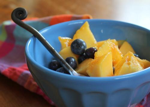 peaches n blueberries