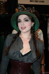 Lady Clankington (greyloch) Tags: sexy philadelphia pretty comiccon steampunk wizardworld 2011 hotlooking