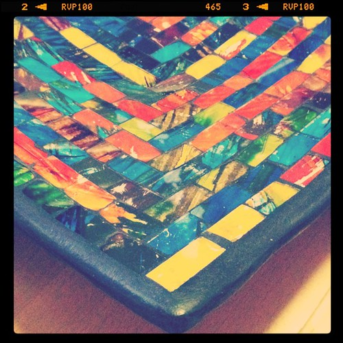 15/31 On my table - mosaic dish #photoaday