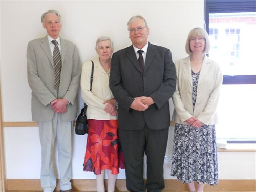 Ian & Jean Giles and David & Mary Cornick