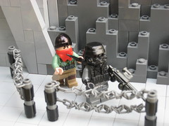 Attack! (*Nobodycares*) Tags: trooper beach soldier amazing lego wwii attack assault worldwarii hazel armor ama ww2 guns omaha armory normandy dday isa kz worldwar2 helghast killzone uas sheaths brickarms aww2 sluban brickforge mmcb kz3 kz2 minifigcat tinytactical weirdwarii wierdwar2 awwii toys711