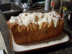 Lemon Pull-Apart Coffee Cake