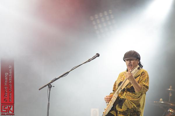Santana @ Musilac 2011