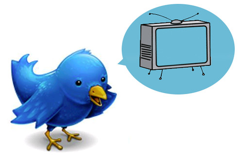 Tweeting about TV by arcticpenguin, on Flickr