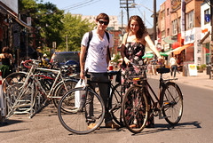 What's Bike Parking in Kensington Market Like?