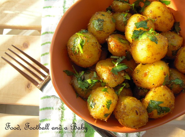 Spicy Roast Potatoes