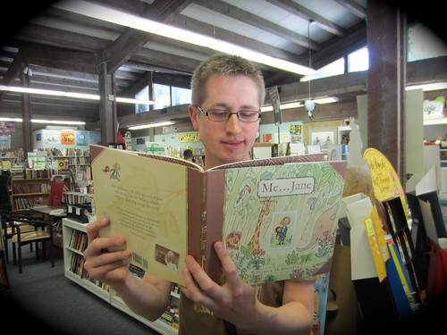 Where Mr. Schu Read This Summer: The Storyteller Book Store
